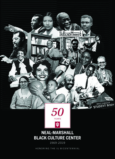 Neal-Marshall 50th anniversary logo